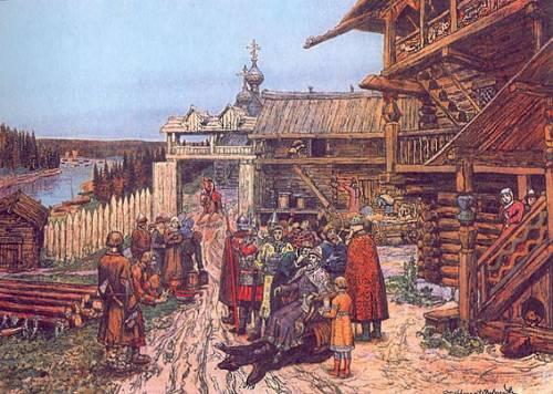 Княжий двор - славяне