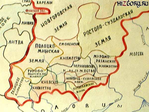 Киевская Русь в x веке Киевская Русь в 10 12 веке
