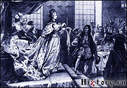 Анна Иоанновна разрывает «Кондиции» (Соглашения), сохраняя за собой неограниченную власть и самодержавную Россию