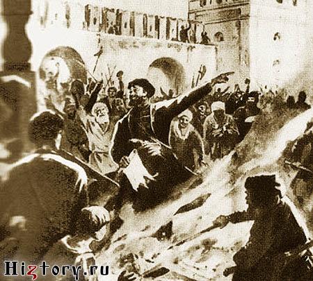 Астраханский бунт 1705 года
