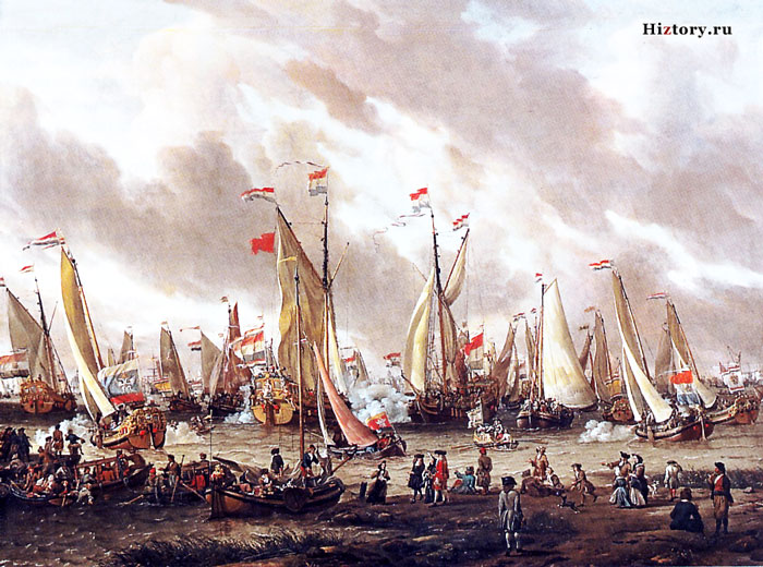 Петр 1 в Голландии