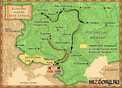 Азовские походы Петра Великого