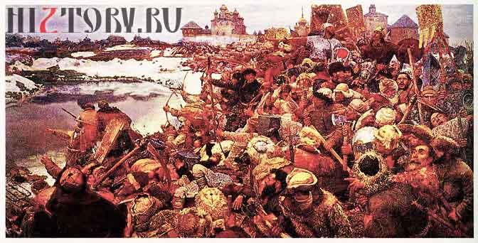 Восстание Болотникова. Картина