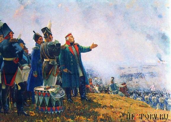 С.В. Герасимов. М.И. Кутузов на Бородинском поле. 1952 г.
