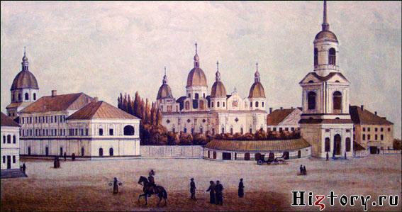 Киевская Духовная Академия и Киево-Братский монастырь, XIX в.