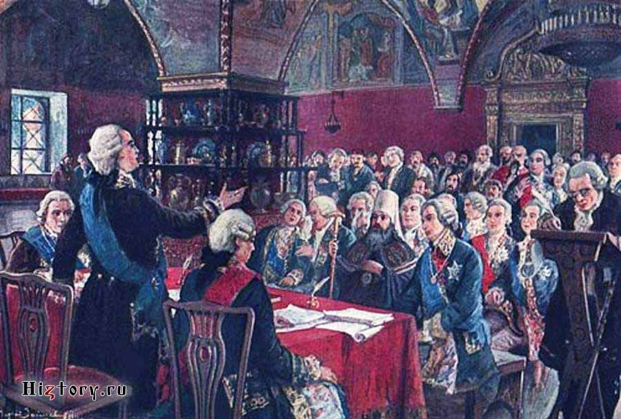 Матвей Марков. Екатерининская комиссия 1767 г