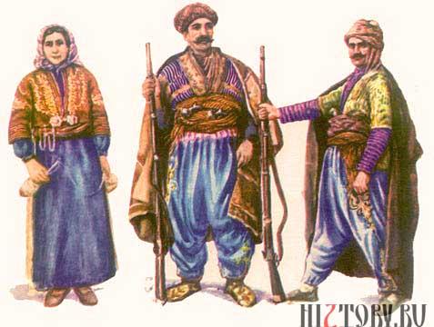 Армянские горцы Зейтуна, 19 век