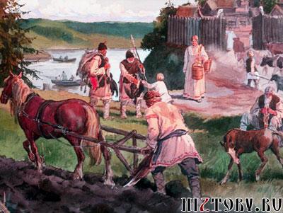 Быт восточных славян
