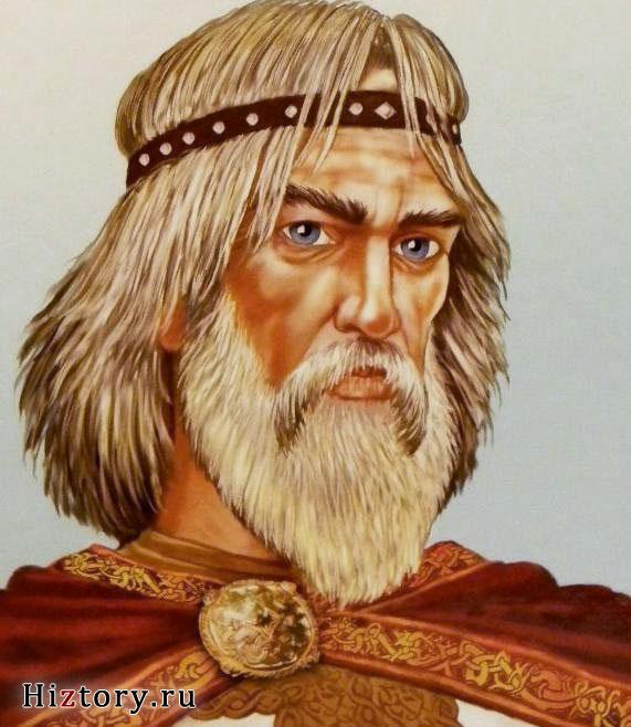 Князь Вещий Олег (портрет)