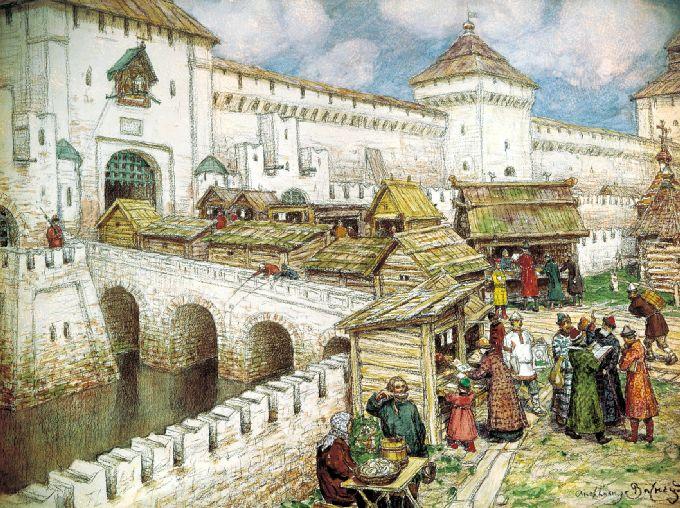 Москва конца 15 начала 16 века