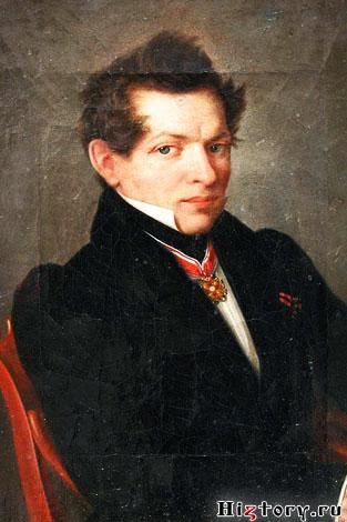 Портрет Лобачевского работы Л. Д. Крюкова (между 1833 и 1836)
