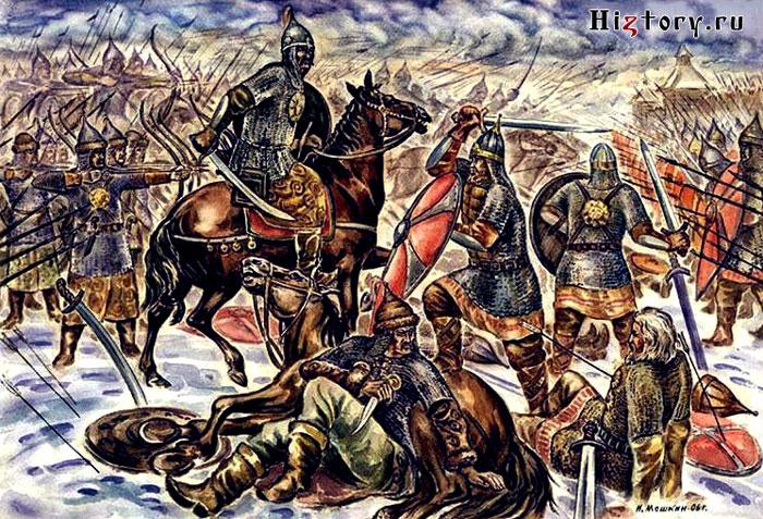 Набеги татаро-монгол