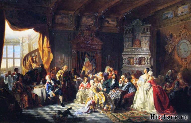 Петровские ассамблеи