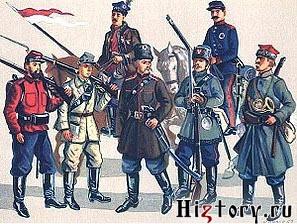 Вооружение и экипировка участников польского Январского восстания 1863 г.