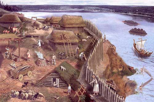 Древнее поселение славян. Русь IX-XII век.